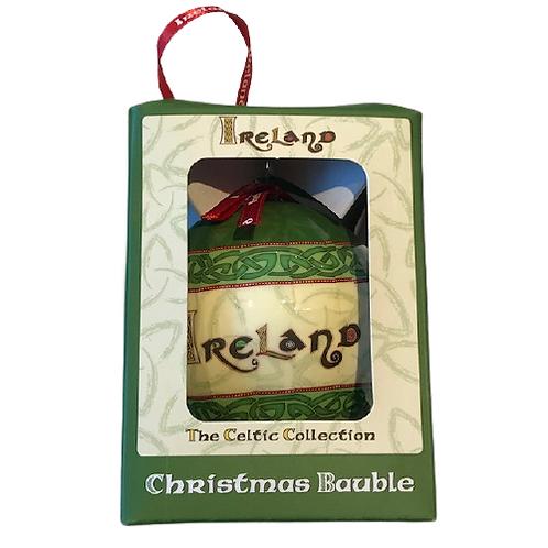 Irish Souvenir Christmas Baubles