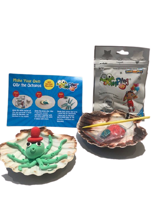 Jumping Clay Olly Octopus kit