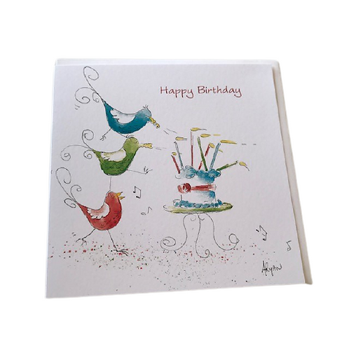 Birthday card- Ni Ri Design