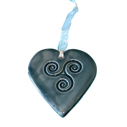 Celtic pottery hearts
