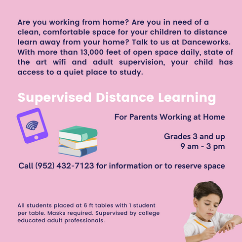 Distance Learning at DanceWorks