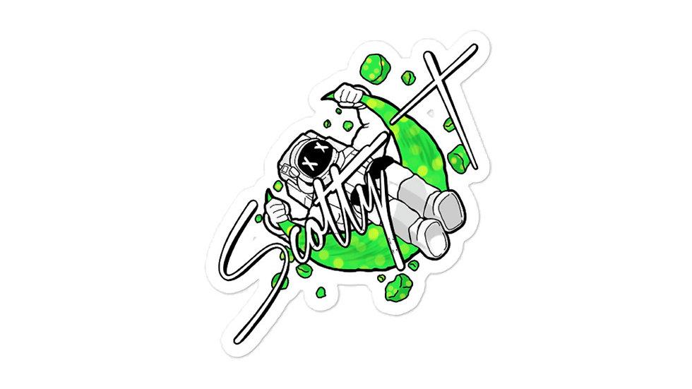 Scotty T Logo Sticker