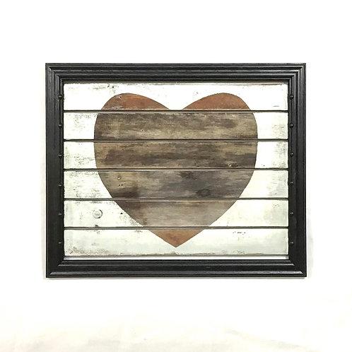 Handpainted Heart Wall Art