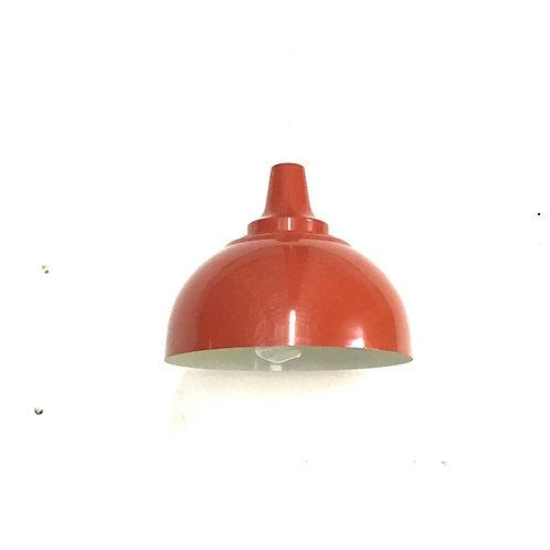 Industrial Pendant Light - Orange