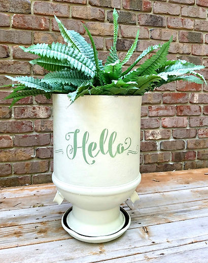 Hello Dairy Pail by Alter Ego Salvage Decor.JPG