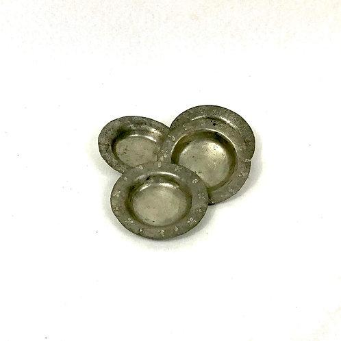 Vintage Pewter Ring Dish Set