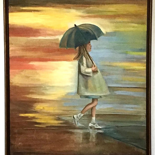 Rainy Day Painting