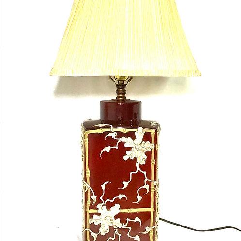 MCM Japanese Moriage Lamp