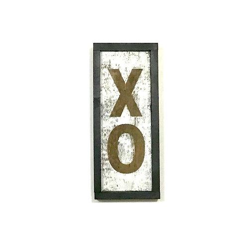 Handpainted XO Wall Art