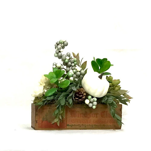Cheese Box with Floral