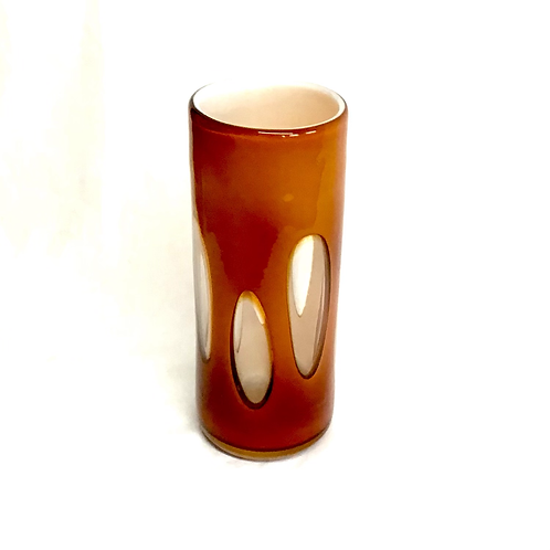 Glass Lava Vase