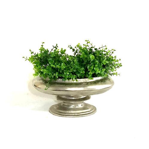 Pewter Oval Display Bowl