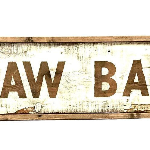 Raw Bar Sign