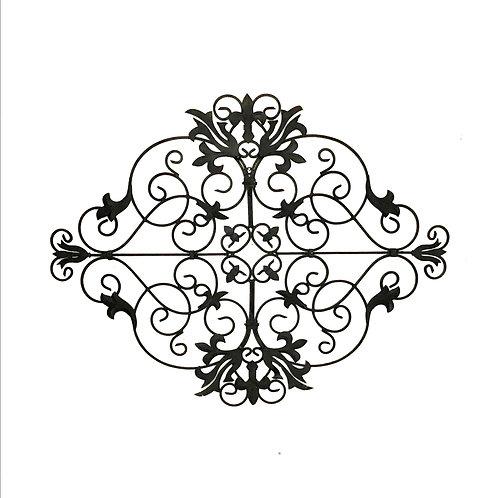 Wrought Iron Decorative Panel