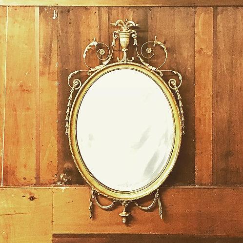 Regency Mirror Gold