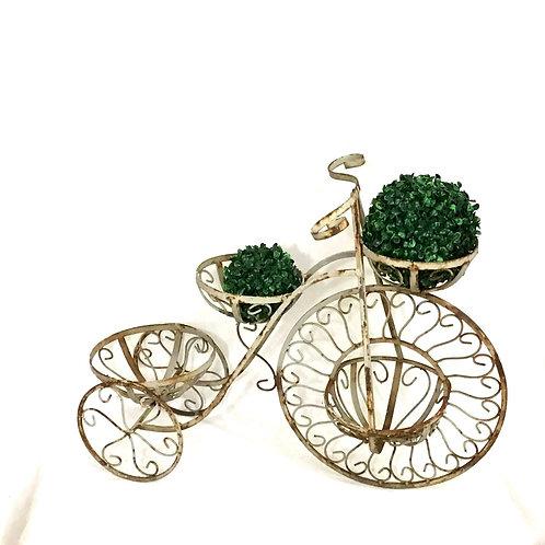 Wrought Iron Bicycle Planter