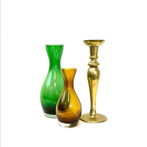 Glass Vase - Emerald