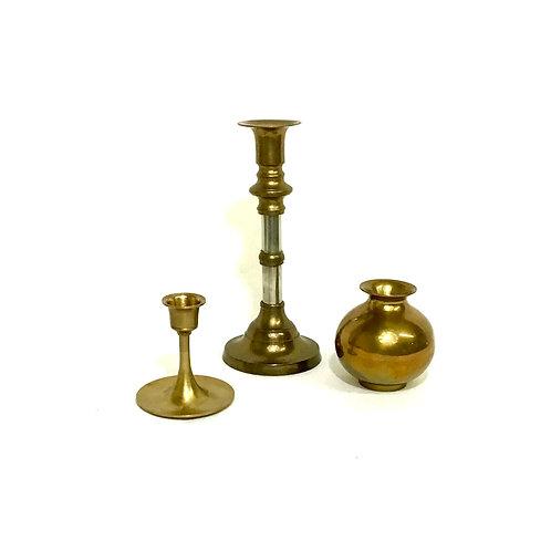 Brass Bud Vase