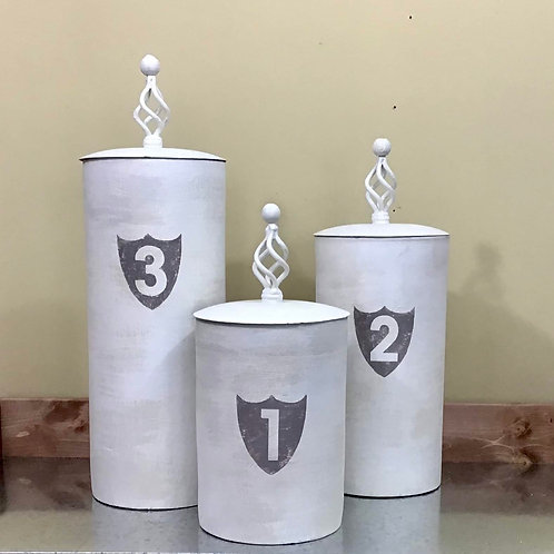 Finial Canister Set