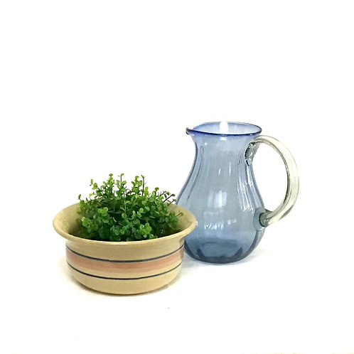 Americana Stripe Stoneware Bowl