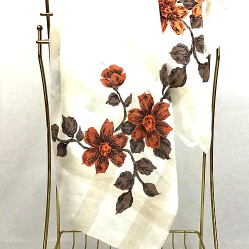 Fall Pallet Floral Tablecloth