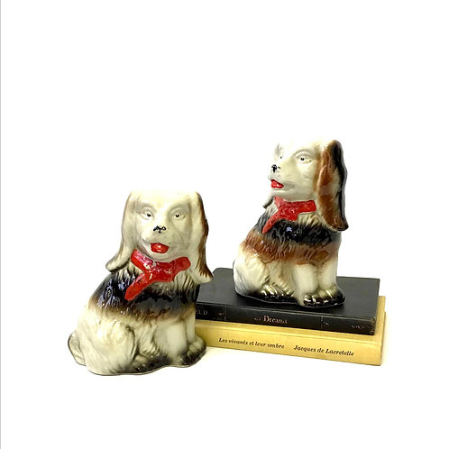 Ceramic Cocker Spaniels - Sold as pair