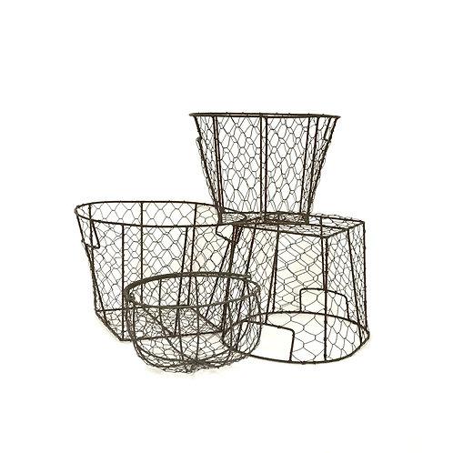 Farmhouse Wire Basket Set