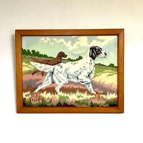 Paint By Number Dogs Hunting