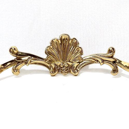 Brass Shell Coat Hook