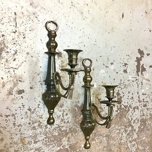 Brass Single Arm Sconce