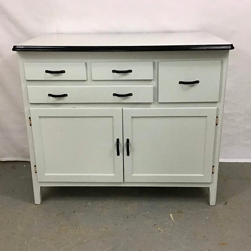 Half Hoosier Cabinet