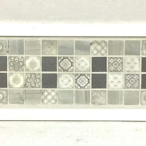 Classic Gray Mosaic Tray