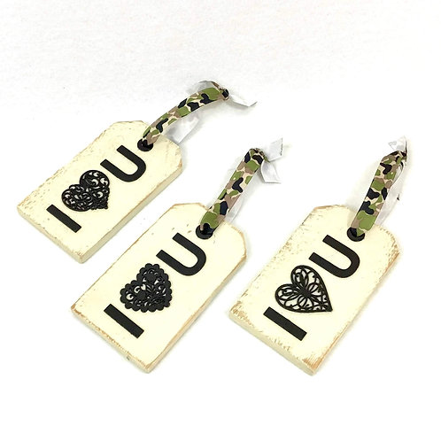 I Heart You Gift Tag