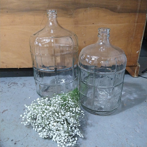 3 Gallon Glass Demijohn