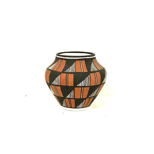 Acoma New Mexico Pottery Bowl