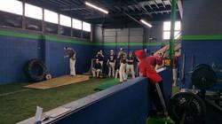 KCC Baseball trains with us too!