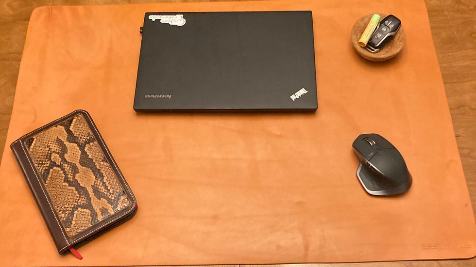 Limited Edition Russet Desk Pad