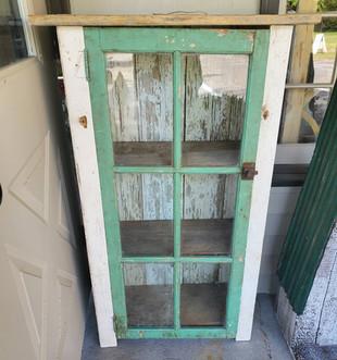 Green Window Jelly Cabinet
