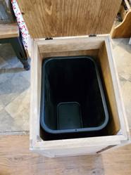 Dog Food Bin (Inside)