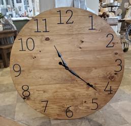 """36"""" Pallet Clock, Numbers"""