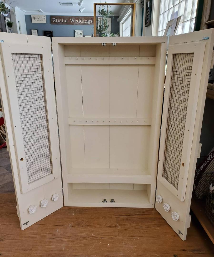 Jewlery Cabinet (Open)