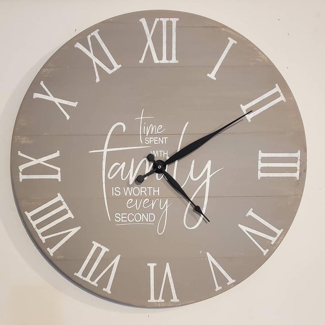 """24"""" Pallet Clock, Custom Quote"""