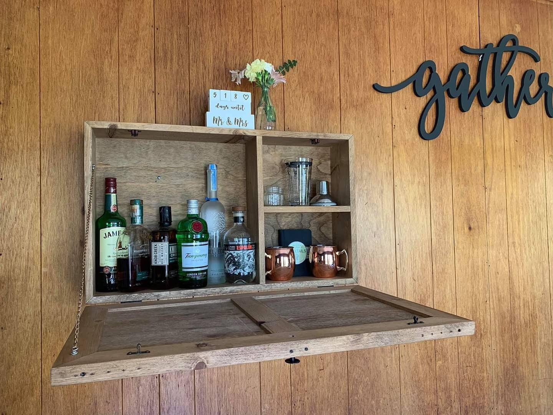 Floating Bar Storage