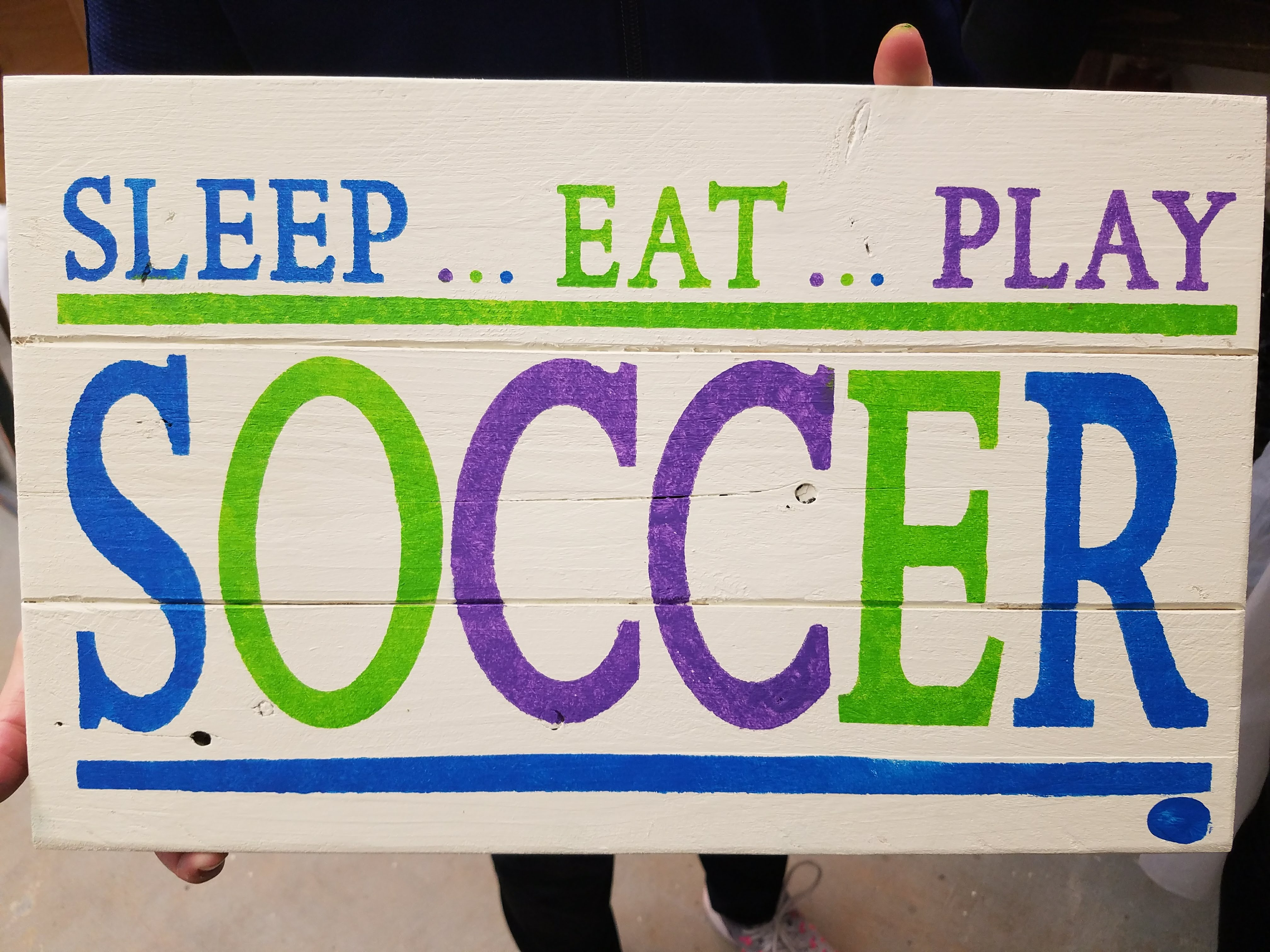 Sleep, Eat, Play - Soccer