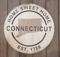 ROUND STATE HOME SWEET HOME