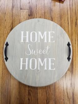 TRAY HOME SWEET HOME