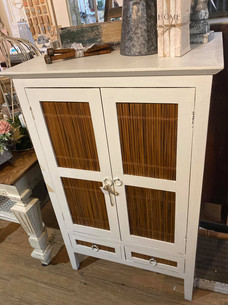 Bamboo Side Cabinet