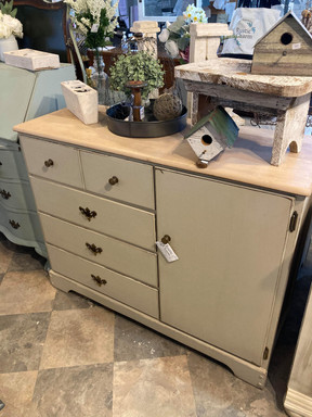 Dresser with Cabinet