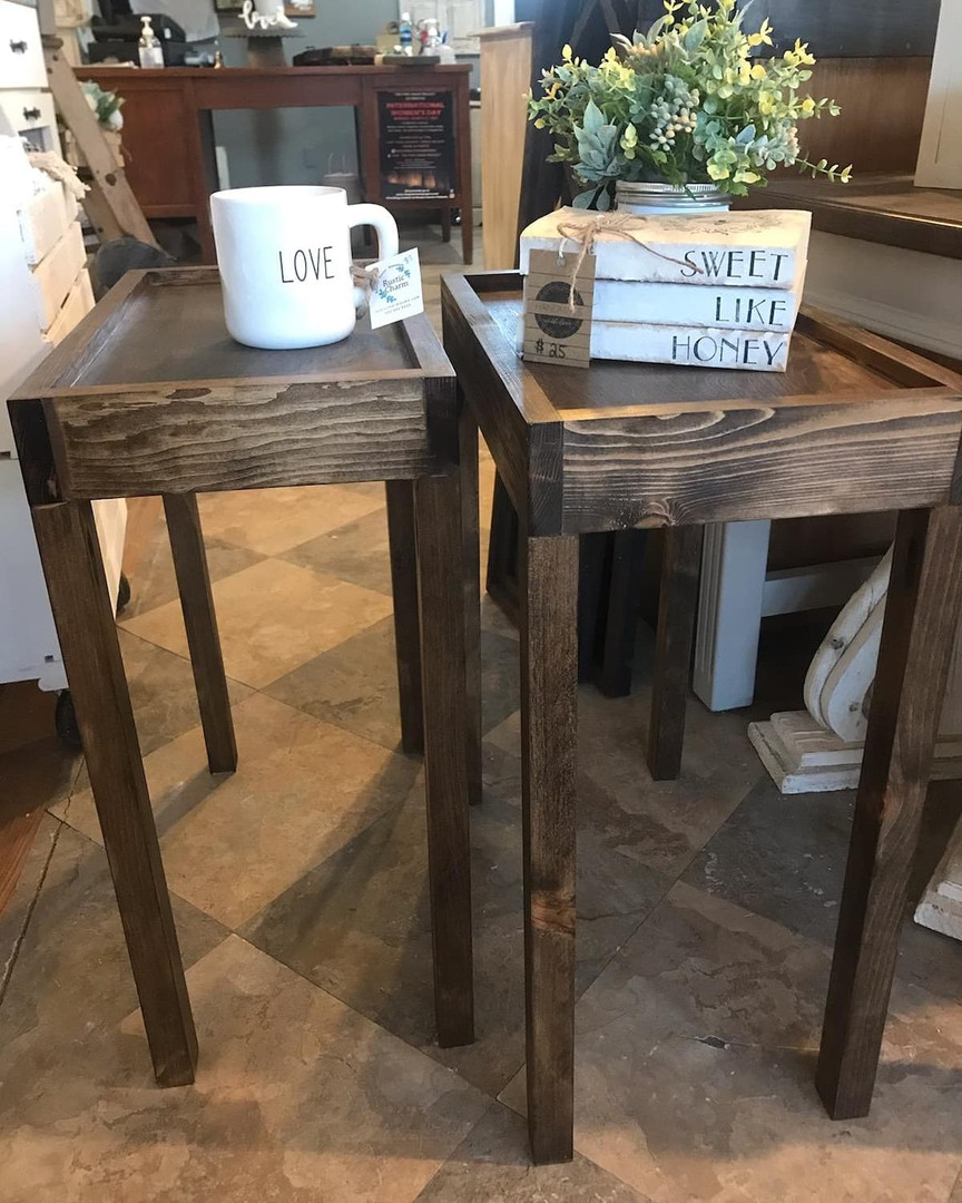 Pair Small Endtables