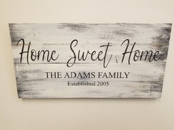 Home Sweet Home/Personalized